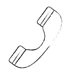 Call center telephone symbol vector