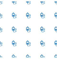 drop counter icon pattern seamless white vector image