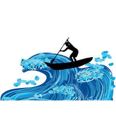Fisherman and wave vector