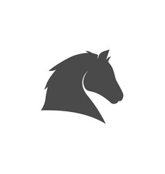 horse head icon images vector image
