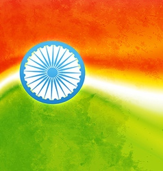 indian flag design vector image