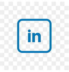 Icon Linkedin Transparent Vector Images 24