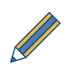 Pencil utensil icon vector