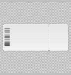 Ticket template vector