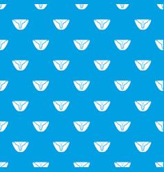 vintage bikini pattern seamless blue vector image