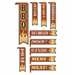 Barbecue Banners vector image vector image