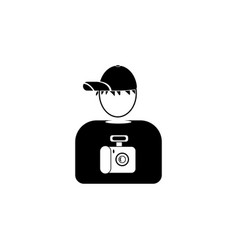 avatar of the photographer iconelement of popular vector image