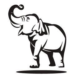 Elephant graphic vector