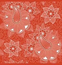 flower seamless pattern element vector image