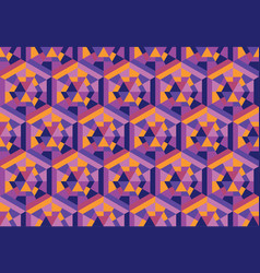 geometric shapes seamless pattern vector image