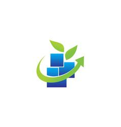 Health life center technology vector