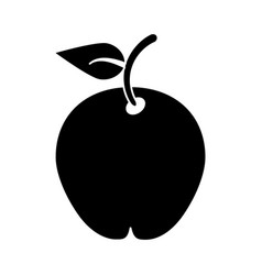 Pear fruit health diet pictogram vector