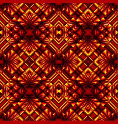 Seamless pattern in colors of fire vector