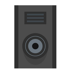 Sound speaker icon isolated vector