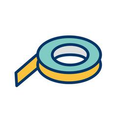 Tape icon vector