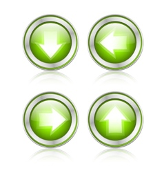 button with download sign vector image vector image