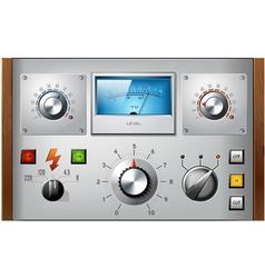 Analog controls interface elements set vector