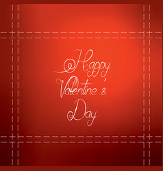 day valentines happy background design card love vector image