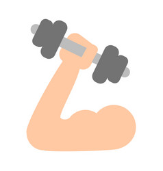 Arm with dumbbell vector