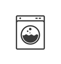 laundry line icon images vector image