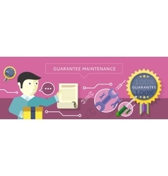 Concept to provide service guarantees maintenance vector