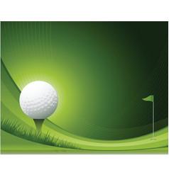 Golf background vector