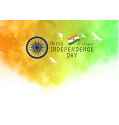 15th august india independence day design vector