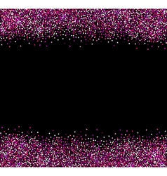 Abstract pink glittering background vector