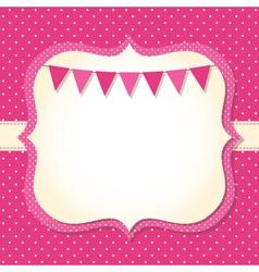 Bagirl arrival card vector