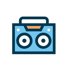 boombox icon sign symbol vector image