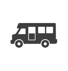 campervan icon images vector image
