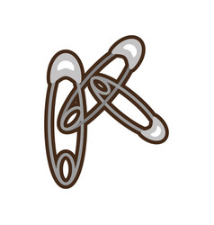 Diaper hook healthy symbol vector