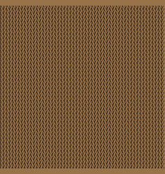 Knit texture orange color seamless pattern fabric vector
