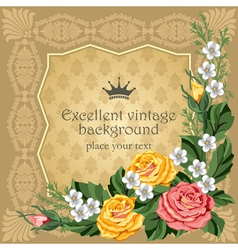 luxurious background vector image