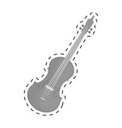 violin or viola icon image vector image vector image