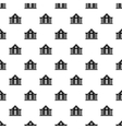 Old house pattern simple style vector image