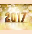 2017 new years eve concept vector image vector image
