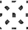 file avi pattern seamless black vector image vector image