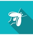 Fly insect icon vector image