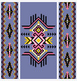indian seamless pattern tribal kilim vector image vector image