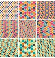 Retro geometric patterns vector | Price: 1 Credit (USD $1)