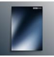 dark blue gradient texture for flyer poster vector image