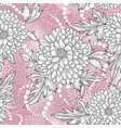 floral seamless pattern abstract ornamental vector image vector image