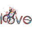 Gay love symbols vector image vector image