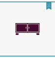 nightstand icon simple furniture sign vector image vector image