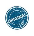 original stamp texture rubber cliche imprint web vector image vector image