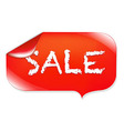 Sale Label vector image vector image