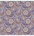 Seamless elegant paisley pattern vector image vector image