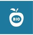 Apple BIO icon vector image