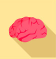 brainstorming icon flat style vector image